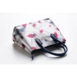 حقيبة يد بطابع الزهر